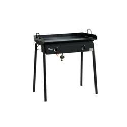 BBQ-Toro Gasgrill BBQ-Toro Gas Grilltisch und antihaftbeschichtete Grillplatte, 78 x 45 x 91 cm