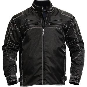 German Wear, Motorradjacke textilien Kombi Jacke schwarz, 52