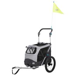 Trixie Fahrrad-Anhänger, Maße: 58 x 93 x 74/114 cm
