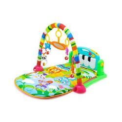 Tapis d'Éveil pour Bébé, Tapis de Jeux avec Arches pour Bébé de 0 à 36 Mois Contient 5 Jouets