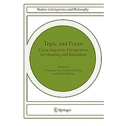 Topic and Focus - Buch