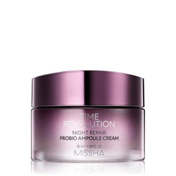 MISSHA Time Revoution Night Repair Probio Ampoule krem do twarzy  50 ml