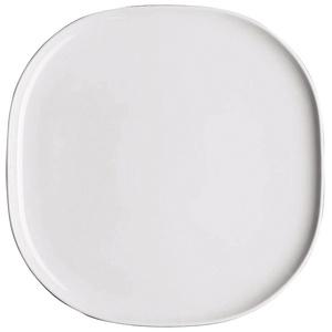 Moon Servierplatte, 31 cm, Weiß