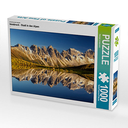 Innsbruck - Stadt in den Alpen Lege-Größe 64 x 48 cm Foto-Puzzle Bild von Danijel Jovanovic Puzzle