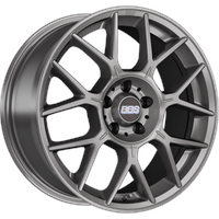 BBS XR platinum silber 7.5x17 ET35 - LK5/114.3 ML82 Alufelge silber