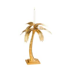 "BOLTZE Kerzenständer Kerzenständer ""Palme"" L39 x B39 x H48 cm"
