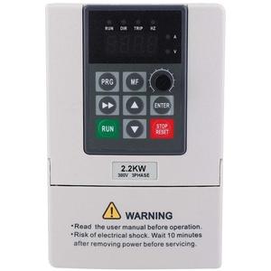 Frequenzumrichter, Frequenzumrichter mit 380 V, 2,2 kW VFD zur Steuerung der Motordrehzahl, 3-phasiger Eingangsausgang, Frequenzumrichter mit VFD, CNC-Umrichter