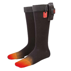 Thermo Thermosocken THERMO SOCKS Set beheizbare Socken Outdoor (1-Paar) beihzbare Socken Akkubetrieb M