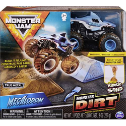 Monster Jam Monster Jam - Monster Dirt - Starterset, mit 226 g Monster Dirt und exklusivem Monst