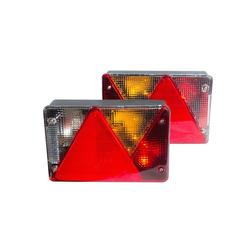 Leuchten - Set: Multipoint IV links, Multipoint IV rechts, für Pkw-Anhänger