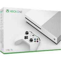 Microsoft Xbox One S 1TB weiß + 14-tägige Xbox Live-Gold Mitgliedschaft