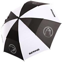 Bering Regenschirm, schwarz-weiss