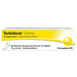 TERBIDERM 10 mg/g Creme 15 g
