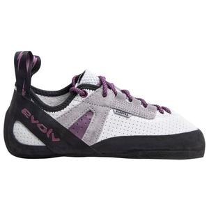 Evolv Elektra Lace - Kletter- und Boulderschuhe - Damen White/Purple/Black 6 UK