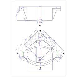 Emotion Whirlpool-Badewanne Titan Whirlpool Set mit der Befüllung über den Überlauf
