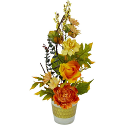 Kunstpflanze Rosen, I.GE.A., Höhe 48 cm
