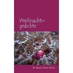 Weihnachtsgedichte - Buch