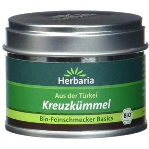 Herbaria Kreuzkümmel fein gemahlen, 1er Pack (1 x 25 g Dose) - Bio