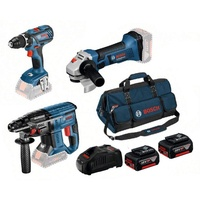 Bosch Profi-Set 3-tlg. GSR+GBH+GWS