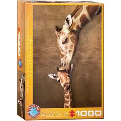 Giraffenmutterkuss (Puzzle)