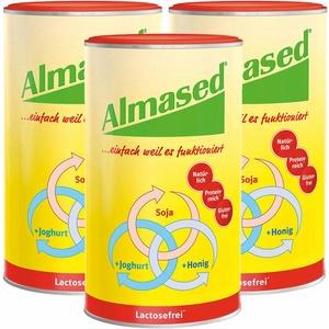 Almased Vital-Pflanzen-Eiweißkost laktosefrei 3x500 g Pulver
