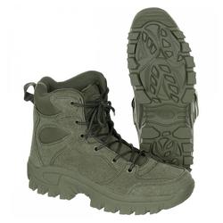 MFH Stiefel, Commando, oliv, knöchelhoch - 45 Wanderstiefel 45