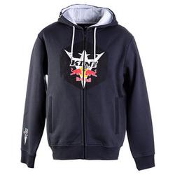 Kini Red Bull Hex Zip-Hoodie grau XL