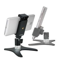 Photecs® Smartphone-Stativ Pro V2-PX, Selfie-Stativ, Handy-Halter, Tisch-Ständer für Kameras etc.
