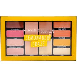 MAYBELLINE NEW YORK Lidschatten-Palette Lemonade Bar, Hochpigmentierte Farben