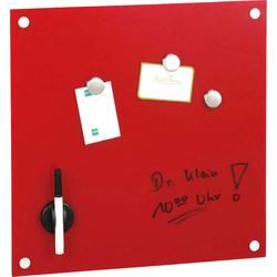Memoboard (1-tlg.), Tafeln, 37997222-0 rot rot