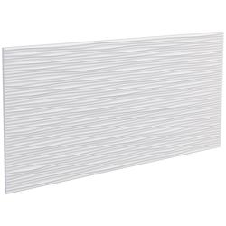 DECOFLAIR Set: 3D Wandpaneel Decoflair®Wandpaneele Sahara, 2er-Set, 78 x 38 cm weiß