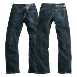Rokker Damen Jeans The Black Lady (26/34, 28/34, 30/34)