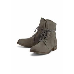 Schnür-Boots Schnür-Boots COX dunkelgrau