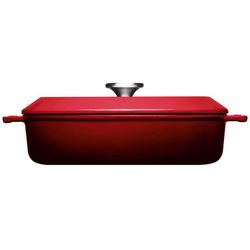 WOLL Kasserolle Iron, Gusseisen, (1 tlg.), Ø 28 cm, Induktion rot Kasserollen Töpfe Haushaltswaren