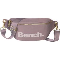 Bench. Gürteltasche OTI303V Bench stylische Hip Bag Polyester (Gürteltasche), Damen, Jugend Gürteltasche Nylon, lila ca. 25cm breit, großes Logo