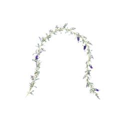 Kunstgirlande FLORISTA Lavendel Girlande 150cm, BUTLERS