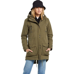 Jacke VOLCOM - Walk On By 5K Parka Olive (OLV)