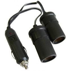 HP Autozubehör 2fach Verteiler Belastbarkeit Strom max.=10A Passend für (Details) 12V Zigarettenan