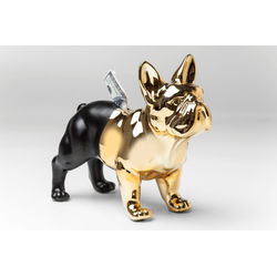 Spardose Bulldog Gold-Schwarz KARE DESIGN