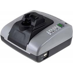 Powery Powery Akku-Ladegerät mit USB für Werkzeug Hitachi Tigersäge CR10DL, 7,2V-18V