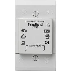 Friedland D753 Klingel-Transformator 8 V/AC 1A