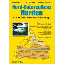 Nord-Ostpreußens Norden 1 : 100 000