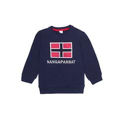 Sweatshirt Nangaparbat Pullover  blau Gr. 128 Jungen Kinder