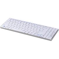 Rapoo E9070 Wireless Ultra-slim Keyboard DE weiß (11206)
