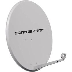 Smart SKC 80 SAT Antenne 80cm Reflektormaterial: Stahl Hellgrau