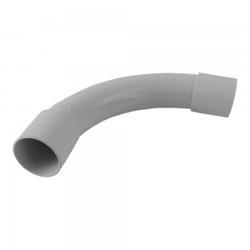 PVC Rohr Bogen 90° Grad Ø32mm Klebemuffe Winkel CRS32G PEP MU-II 32 XBS