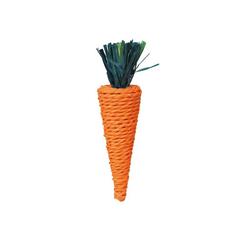 TRIXIE Spielzeug für Kleinnager Karotte 20 cm