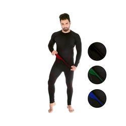 Black Snake Funktionsunterhemd neverest, Funktionsunterwäsche Set Seamless Unterhemd + Unterhose rot M/L