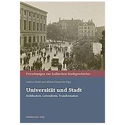 Universität und Stadt - Buch