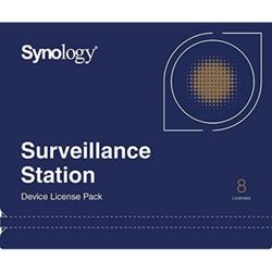 Synology Device License / 8x IP Kameralizenz oder 8x I/O-Modul